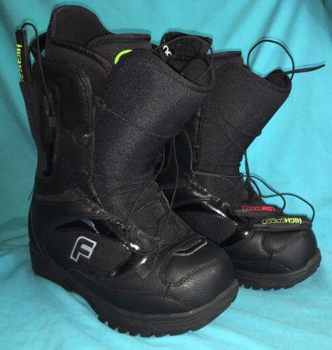 Forum League SLR Snowboard Boots Black Womens 7 Concentrix Liner System