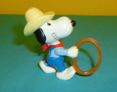 Peanuts Gang Snoopy Cowboy Snoopy PVC