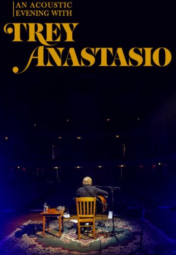 (2) Trey Anastasio Tickets Solo Acoustic 2/8/18 Mayo Theatre Morristown, NJ