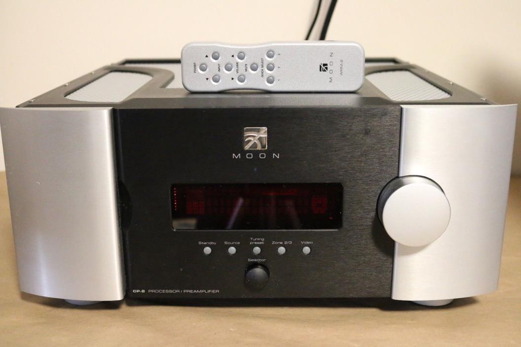 Simaudio Moon CP-8 Processor / Preamplifier Audiophile AV Processor 18K MSRP