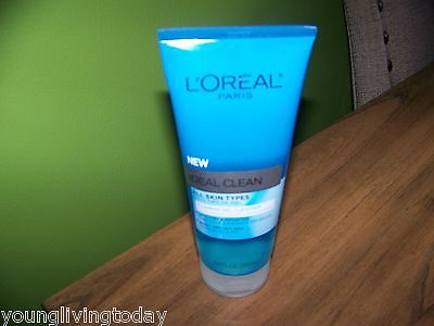 L'Oreal Paris Ideal Clean Foaming Gel Cleanser All Skin Types 6.8 Fluid Ounce