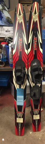 XTRA SUPER SHAPED COMBO WATER SKIS