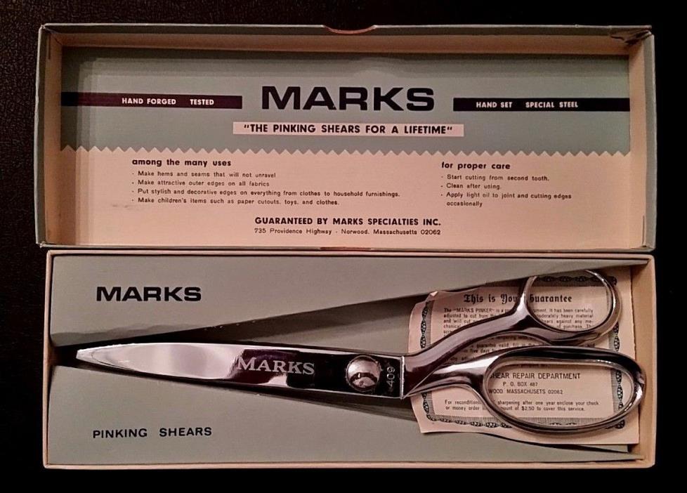 Vintage Marks 409 Pinking Shears 9