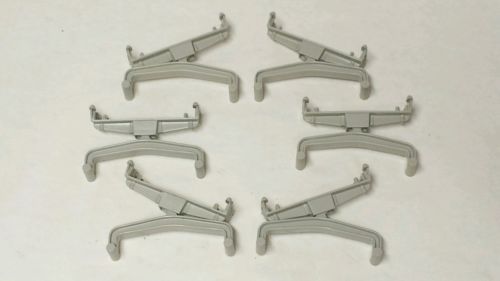 6 Aurora AFX Tomy Short Bridge Supports Track Risers AW Auto World Free S&H