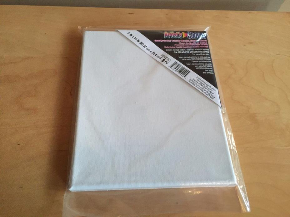 Darice 8-Inch-by-10-Inch Stretched Canvas 1-Packd