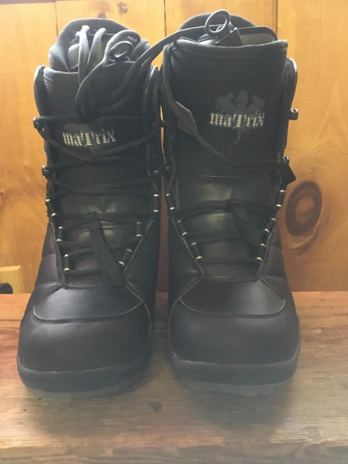Board Factory Men's Matrix Mission Snowboard Boots Size 10 NEW