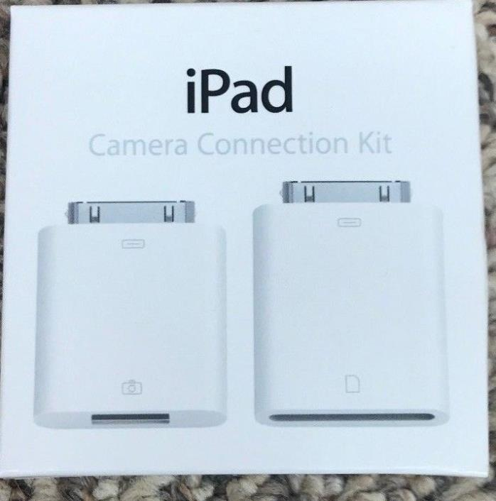 Genuine Apple iPad Camera Connection Kit MC531ZM/A Model A1362 A1358 New Sealed