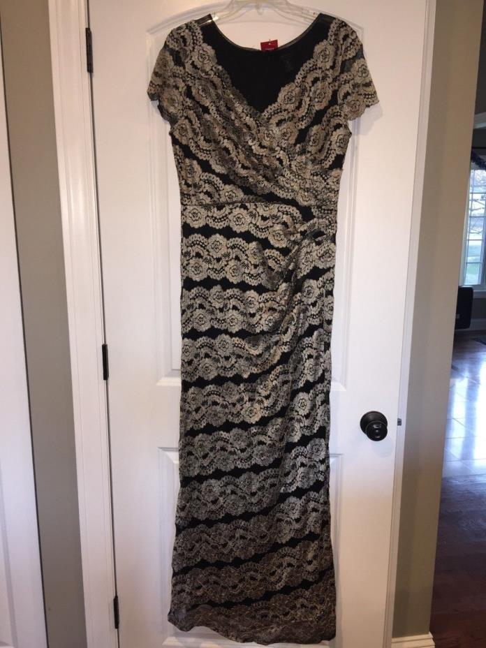 R&M Richards special occasion dress size 14 never wore