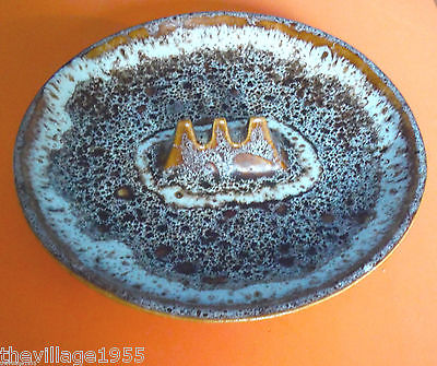MAURICE CHALVIGNAC / Round Brown Ashtray