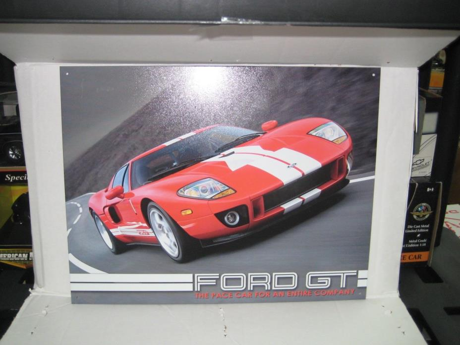 Ford GT Tin Sign