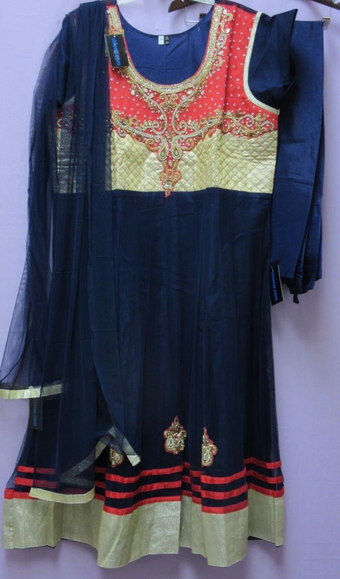 Anarkali 5919 Assorted Plus Size Churidar Salwar Kameez Dupatta Suits