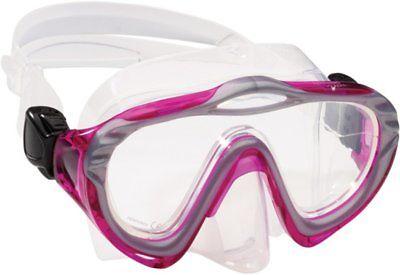 Speedo Jr Dive Recreation Swim Swimming Adventure Hyperdeep Mask Goggles Fuchsia