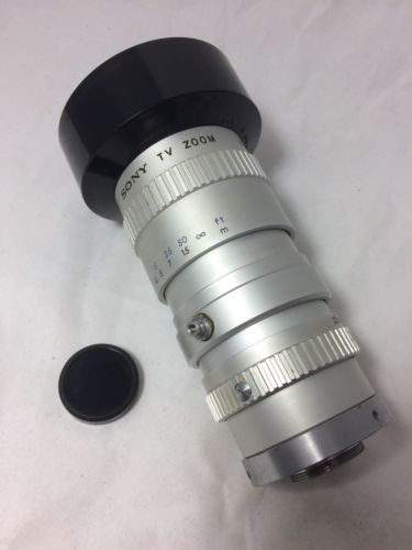 SONY  f=20-80mm f/2.5 TV Zoom Lens C Mount No.159271 Made in Japan
