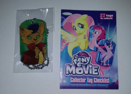 My Little Pony The movie Capper Collector Dog Tag