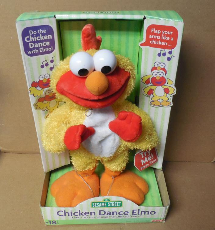 NEW FISHER PRICE SESAME STREET CHICKEN DANCE ELMO IN PACKAGE