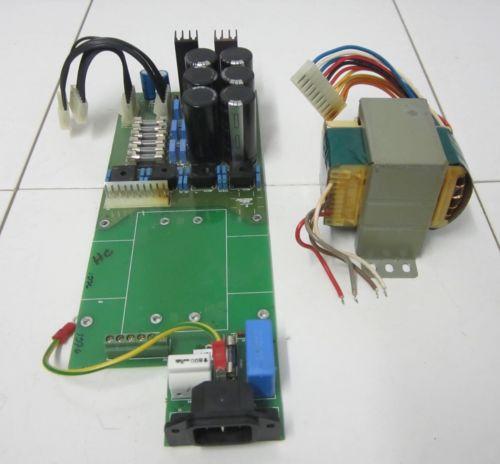 PARASOUND AVC-2500 AUDIO VIDEO CONTROLLER POWER SUPPLY BOARD & TRANSFORMER