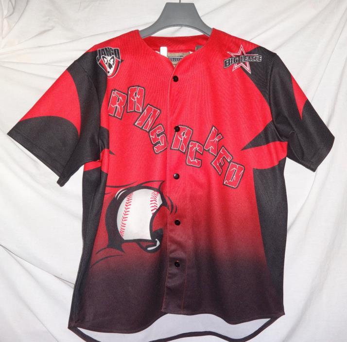 RANSACKED Jango Sportswear Game Used Worn Baseball Jersey