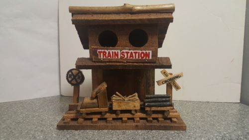Bird House Train Station