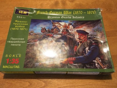 French German War 1870-1871 Prussian Guards 1:35 scale ICM Model Kit 35011