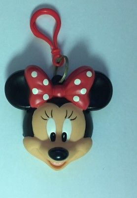 Applause Disney Rubber Minnie Mouse Coin Holder w/ Keyring