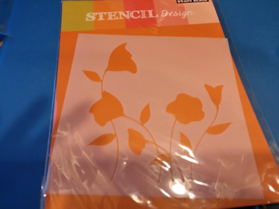 Penny Black - Flower Dance Stencil