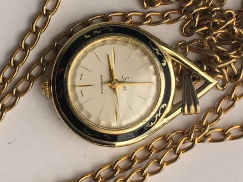 VINTAGE POCKET WATCH SHEFFIELD SHOCK RESISTANT SWISS MADE FOR PARTS & REPAIR