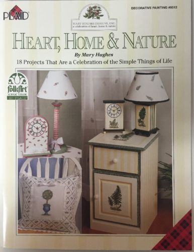 Plaid, Heart, Home & Nature Decorative Painting#9512,18 Projects by Mary Hughes