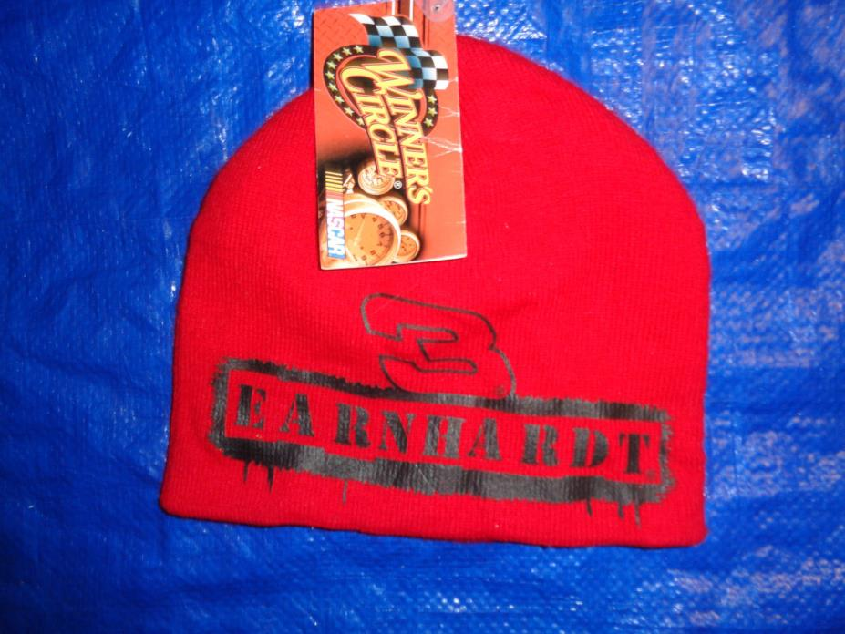 DALE EARNHARDT Hat WINTER HAT WINNERS CIRCLE BRAND NEW INTIMIDATOR FAST SHIP
