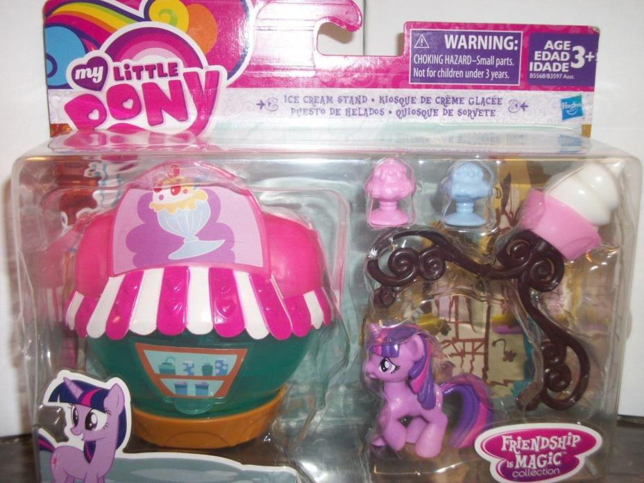 My Little Pony Friendship is Magic Collection Ie Cream Stand Twilight Sparkle