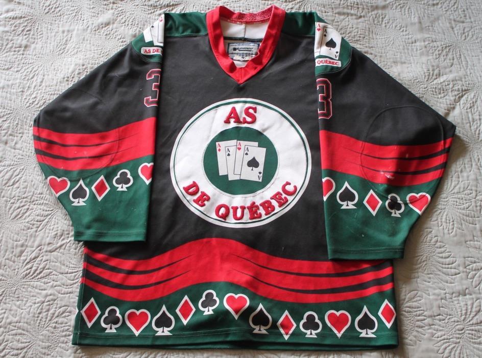 Quebec Aces Game-Used Jersey QSPHL