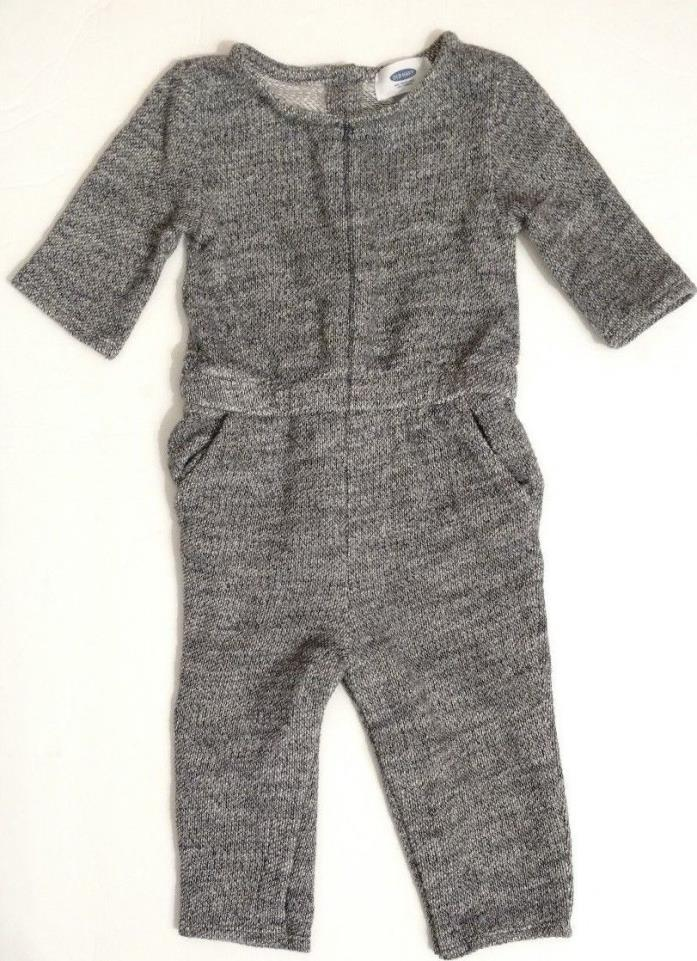 Old Navy Toddler Boys Long One-Piece Romper Size 18-24 Months