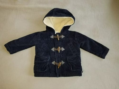 Old Navy Corduroy Hooded Lined Jacket, 12-18 Months.  *Free Priority Shipping*