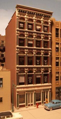 City Classics HO101 Grant St Iron Front Building Kit