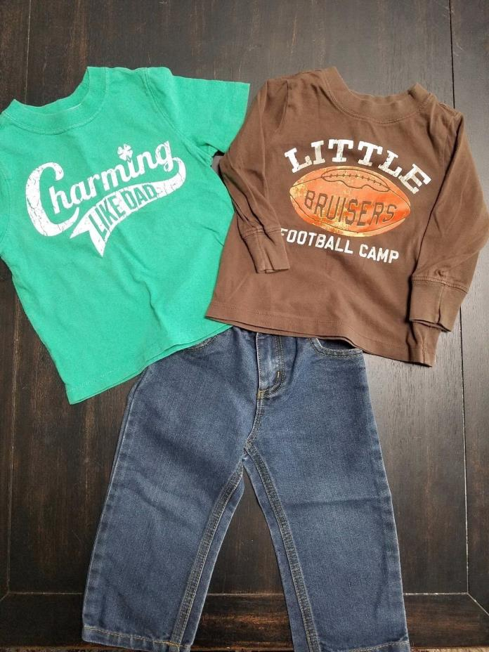 Toddler Boys Lot Size 18/24 month 2T Old Navy Roca Wear