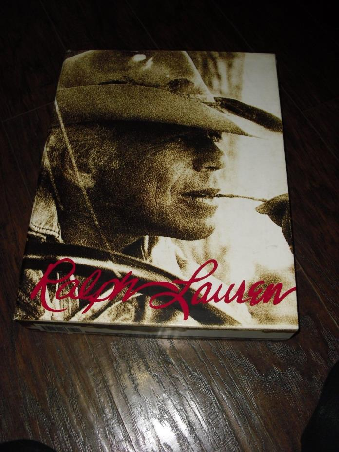 RALPH LAUREN Book Coffee Table X-LARGE Hard cover 1st Edition