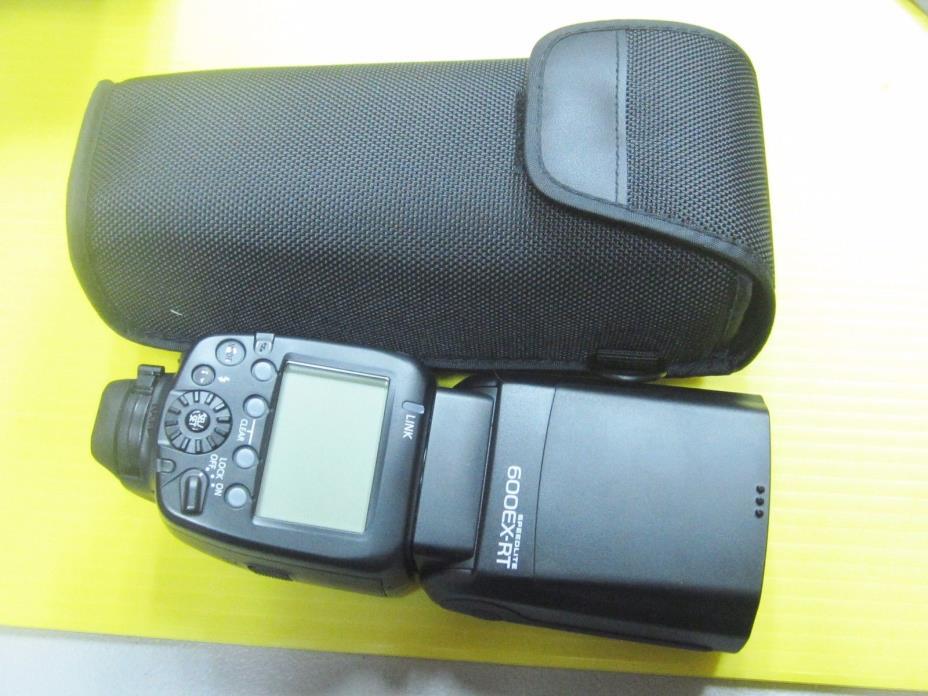 Canon Speedlite 600EX-RT Professional Camera Flash for digital camera