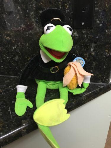Pilgrim Kermit The Frog Plush 19
