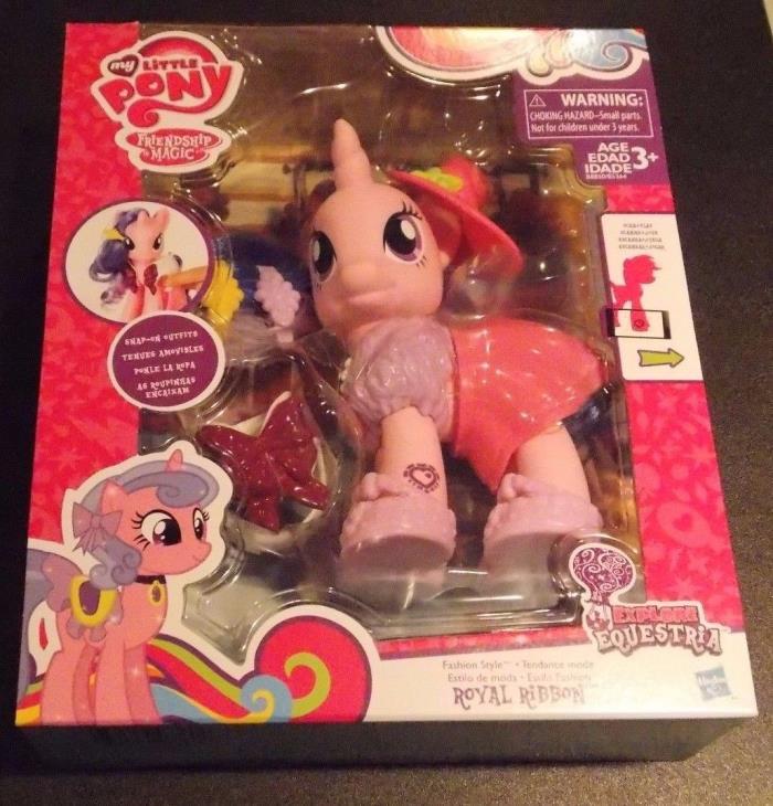 My Little Pony Explore Equestria 6-inch Fashion Style Set Royal Ribbon New