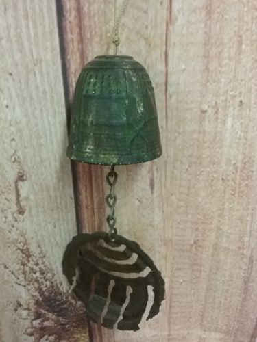 Vintage Cast Iron Bell Wind Chime