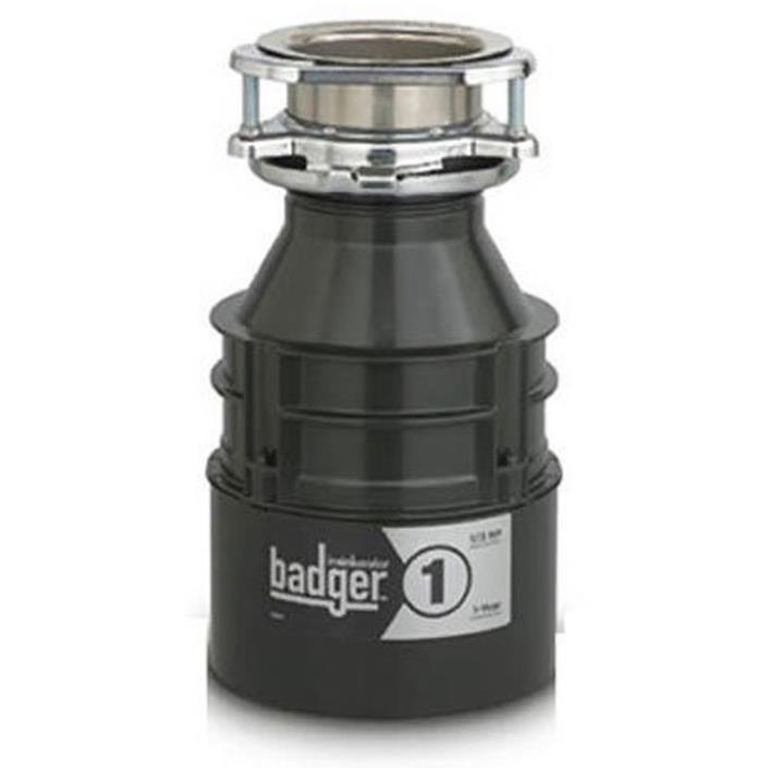 InSinkErator Badger 1, 1/3 HP Household Food Waste Disposer, FS