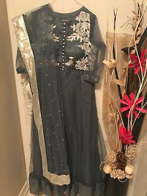INDIAN/PAKISTANI SALWAR KAMEEZ BOLLYWOOD PARTY ANARKALI SUIT DRESS