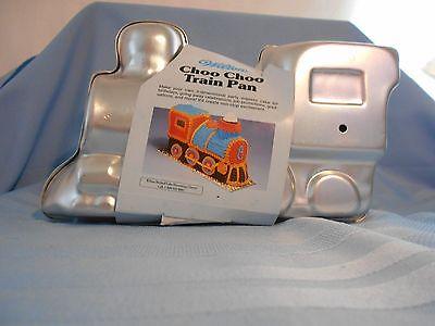 NEW Wilton Choo Choo Train Cake Pan 3D 1998 Instruction Inside Pan