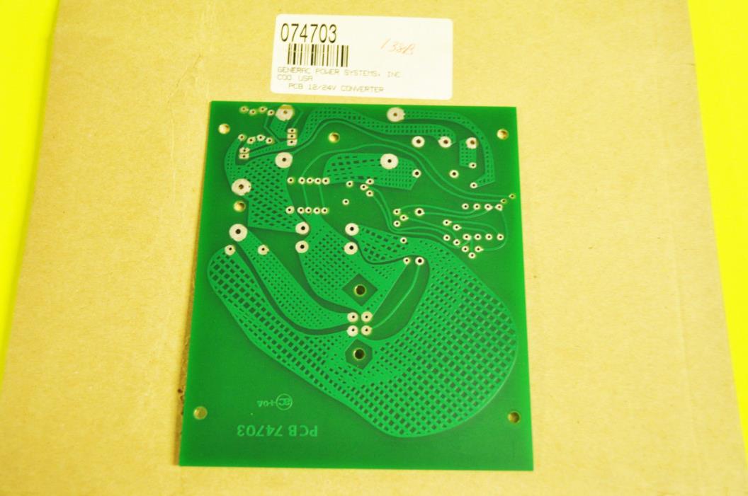 Genuine Generac G074703, Circuit Board 12/24V Converter (Free Shipping)