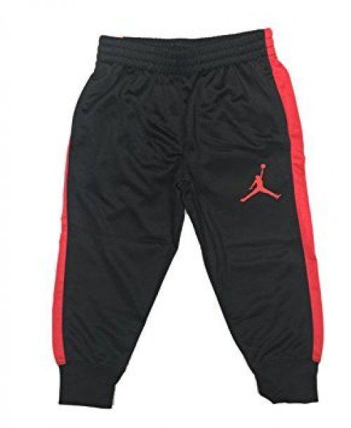 Nike Jordan Jumpman Athletic Pants NEW Size 2T Black & Red