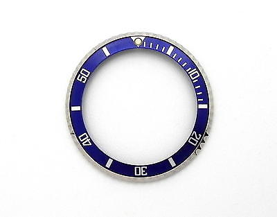 Tudor Submariner Automatic Date Blue & Stainless Watch Bezel Insert #47i
