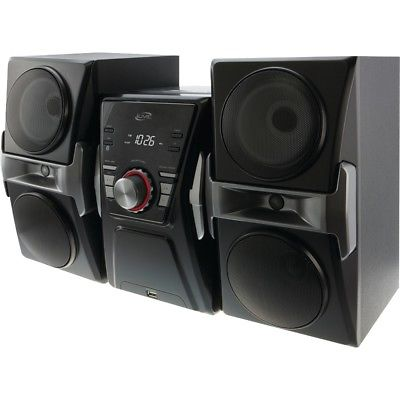 Ilive Bluetooth Home Music System With Fm Tuner & Led Lights