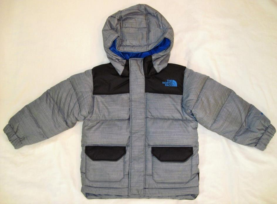North Face Toddler Boys' Harlan Down Parka Puffer Coat cosmic heather 2T