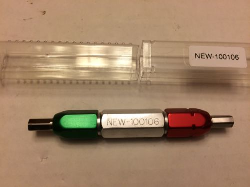 NEWHALL PACIFIC GO/NO GO gage for .255 hex. 100106