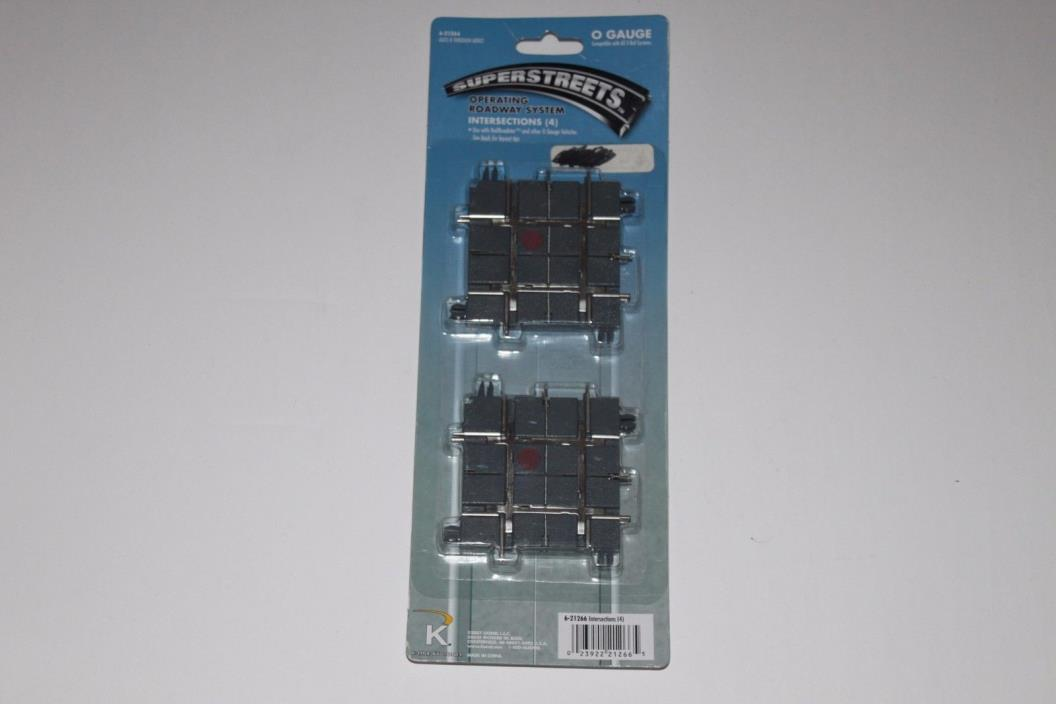 O Scale K-Line 621266 Superstreets Operating Roadway System Intersections (4)