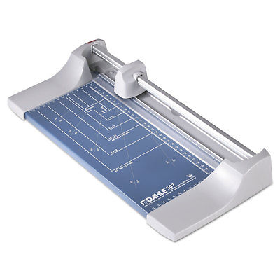 Dahle Rolling/Rotary Paper Trimmer/Cutter 7 Sheets 12